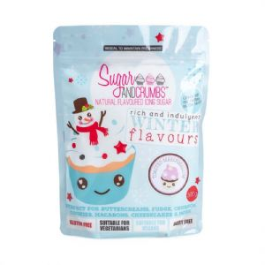 Sugar & Crumbs Natural Flavoured Icing Sugar 500g: Toasted Marshmallow